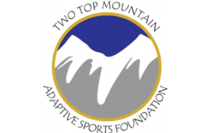 Two Top Mountain Adaptive Sports Foundation Logo