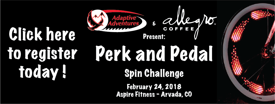 Perk and Pedal Spin Challenge Web Banner