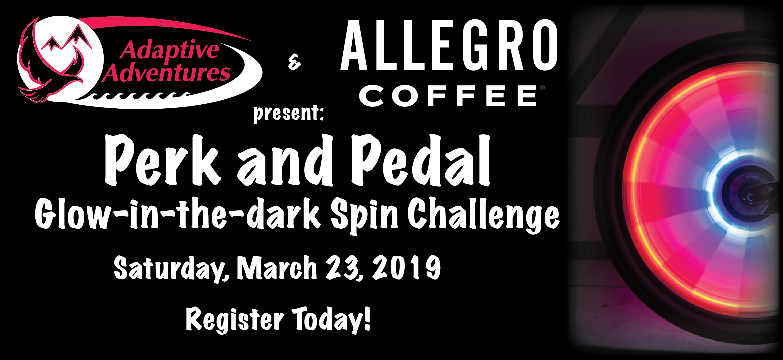 Perk and Pedal Spin Challenge 2019