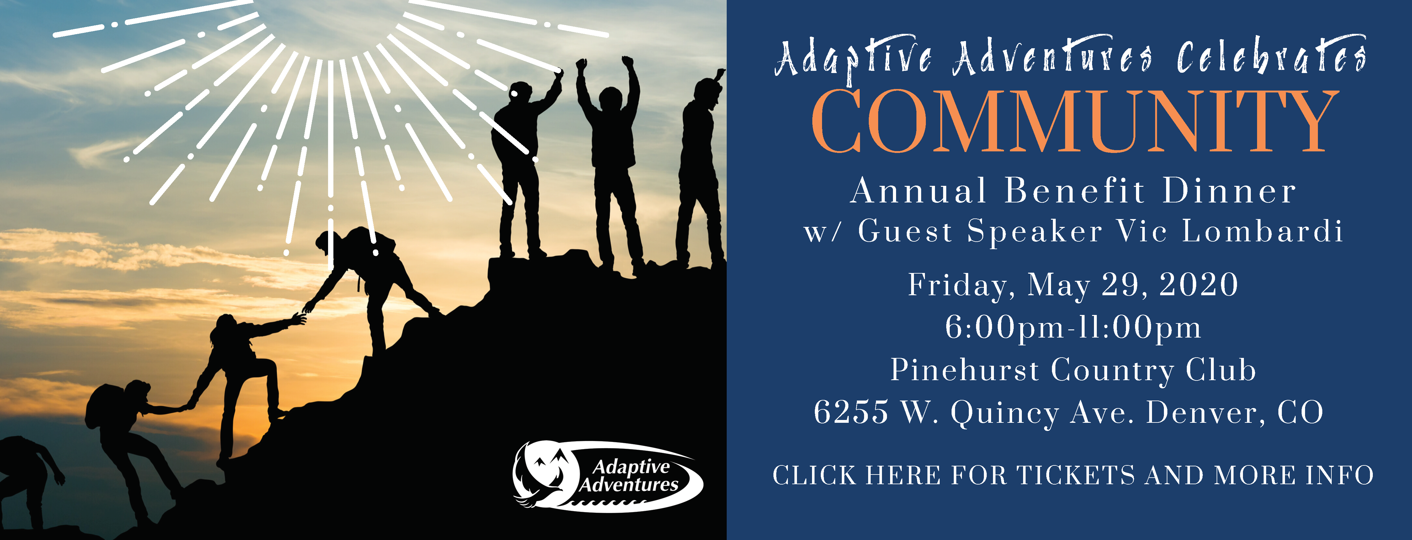 Adaptive Adventures Celebrates Community Event